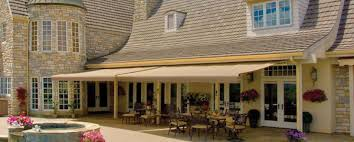 Retractable Awning With Screen Sunsetter Retractable Awning By Graber Bay View Shade U0026 Blind