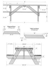 build a picnic table plans for building an 8 foot long picnic table garden