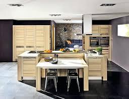 cuisine avec cuisine ilot central table manger rutistica home solutions avec