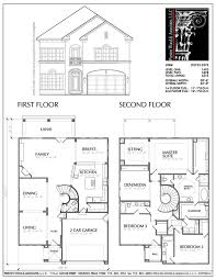modern two story house plans simple two story house plans modern small narrow lot upstairs
