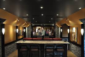Behind The Couch Bar Table Interesting Behind The Bar Ideas Images Best Inspiration Home