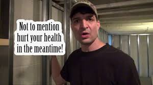 how to finish your basement and avoid toxic mold problems youtube