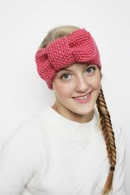 knitted headband headband knit patterns cottageartcreations