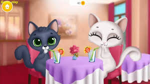 kitty meow meow my cute cat play animals games for kids fun
