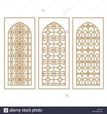 islamic window stock vector images alamy
