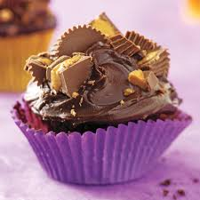 peanut butter cup chocolate cupcakes recipe taste of home