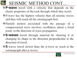 Wisconsin which seismic waves travel most rapidly images Geophysical exploration jpg