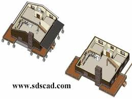 1 1 2 story floor plans 28 x 28 1 1 2 story cabin with loft cabin plans