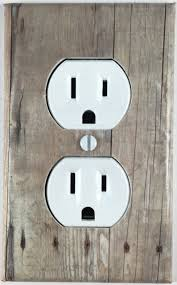 barn wood decor design decorative outlet wall plate