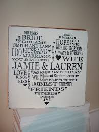 wedding plaques personalized wedding typography personalised plaque sign 14 99 food ideas