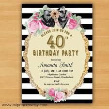 shabby chic birthday invitation for any from miprincess on etsy