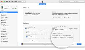 how to back up your iphone ipad and ipod touch apple support