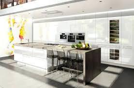 ilot central cuisine contemporaine cuisine en l avec ilot cuisine moderne jacinthe cuisine blanche et