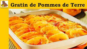 recette cuisine pomme de terre gratin de pommes de terre recette rapide et facile