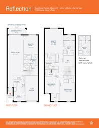Camp Floor Plans Boca Raton Community Townhome Floorplans Pointe100