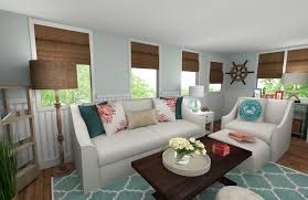 Online House Design Online Interior Designer Beach Style Living Room Decorilla