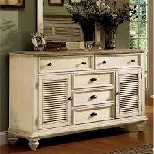 Shutter Door Cabinet Riverside Furniture Coventry Shutter Door Dresser In Dover White