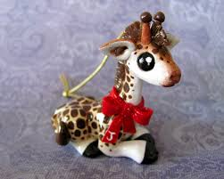 giraffe ornament by dragonsandbeasties on deviantart