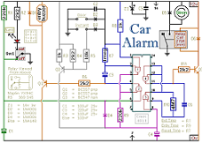 circuit diagram for car alarm and immobilizer system by ron j