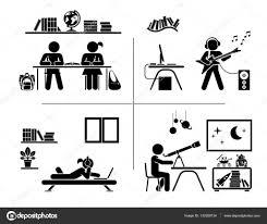 pictogramme chambre jeu d icônes de pictogramme enfants de passer du temps dans leur