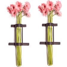 Wall Mounted Glass Flower Vases Gorgeous 60 Metal Wall Vase Design Decoration Of Galvanized Metal