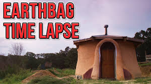 Tiny Houses Movie Time Lapse Of Earthbag Tiny House Construction Youtube