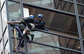 trump tower climber caught after scaling building with suction