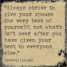 marriage advice quotes give your spouse the best of yourself marriage