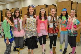 wacky tacky day a hit with walkersville students for spirit