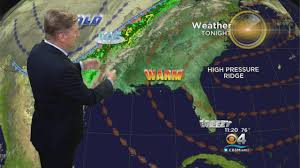 Show Me The Weather Map Weather Cbs Miami