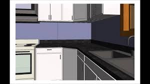Revit Kitchen Cabinets Walkthrough Revit Realistic Youtube