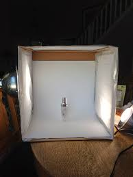 how to make a photo light box evolution of a foodie how to make your own light box