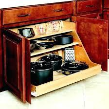kitchen pan storage ideas pan storage ideas kitchen pan shelf keep your pots and pans organize