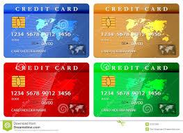 customized debit cards 4 color credit or debit card design template stock photos image