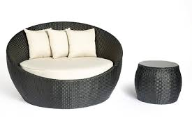 byblos 2 piece round daybed setting outdoor chairs