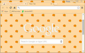 chrome themes cute cute halloween pixel pumpkins chrome web store