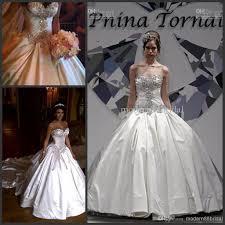 panina wedding dresses prices 2014 pnina tornai custom made gown bridal wedding dress