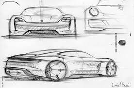 back of the napkin a new look at the porsche mission e concept