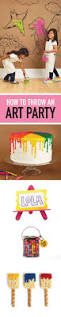 the 25 best art party cakes ideas on pinterest art birthday