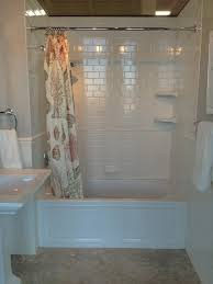 Subway Tile Designs For Bathrooms by Elegant Neutral Bathroom Renovation Subway Tiles Mosaics And Glass
