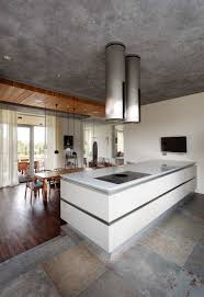 Industrial Modern House Modern House Traditional Kitchen Normabudden Com