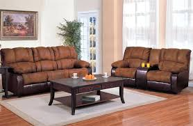 Two Tone Reclining Sofa And Loveseat Sets Sofa And Chair Sets 2 Leather Reclining