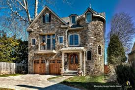 Small Victorian Homes Victorian Home Exterior With A Castle Aura Thanks To The Stone