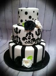 black white and lime green wedding cake cakecentral com