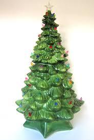 ceramic tree lights and at hallmark