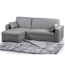 divan canapé canapé sofa divan canapé d angle réversible gris brio salon