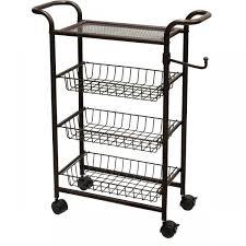 Rolling Bathroom Storage Cart by Storage Bins Drawers Rolling Storage Cart Organizer With Bins