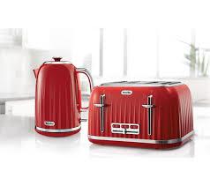 Breville 4 Slice Smart Toaster Buy Breville Impressions Vtt783 4 Slice Toaster Venetian Red