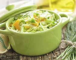 cuisiner du choux vert recette salade de chou vert et carottes