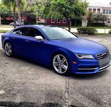 blue audi s7 car picker blue audi s7